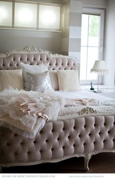 Colour: Beige, sand, cream, off white, champagne and light brown | Beds, Tufted Bed and Bedrooms