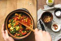 Vegetable Chickpea Stew