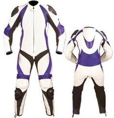 Leather motorcycle suit custom made style 130 image $464.99