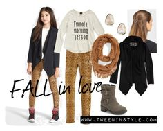 """FALL in love!"" by tweeninstyle on Polyvore"