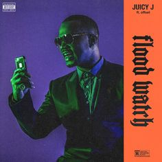 "Juicy J officially drops ""Flood Watch,"" his new collab with Offset that sprung a leak a few days back. Check it out below and stay tuned for release info on Juicy's next project, Rubba Band Business: The Album. Previously: Juicy J – Spend It All (Video) J Song, Flood Watch, Booklet Layout, Juicy J, Hip Hop Albums, Hip Hop Videos, Rap God, Songs 2017, Hollywood Celebrities"