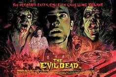 Artwork from Evil Dead veteran Graham Humphreys