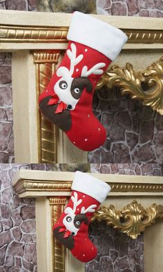 Christmas Snowman Santa Stockings ChristmasGift Bag Christmas Party Home Decoration $7.99