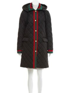 #NewYear #The RealReal - #Gucci Gucci 2017 Web Quilted Coat w/ Tags - AdoreWe.com