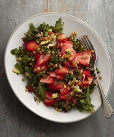 Try the strawberry buckwheat tabbouleh recipe http://www.yellowkitebooks.co.uk/wellbeing/healthy-eating/strawberry-buckwheat-tabouleh/