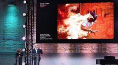 Fotografía de hombre en llamas gana el World Press Photo 2018