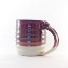 Handmade Mug  Pottery Mug  Ceramic Mug  by SawyerCeramics on Etsy