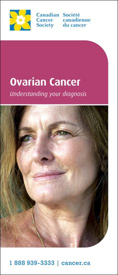 The introductory information in this brochure can help you and your family take the first steps in learning about #ovariancancer. A better understanding may give you a sense of control and help you work with your healthcare team to choose the best care for you.