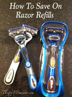 Razor refills can be expensive. Who wants to pay full price? In this post you will learn how to save on razor refills!
