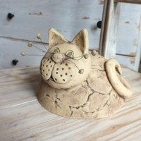 Bytové doplňky / Keramika | Fler.cz Kids Clay, Play Clay, Clay Cats, Flower Pot Crafts, Biscuit, Ceramic Wall Art, Clay Figurine, Polymer Clay Dolls, Porcelain Clay