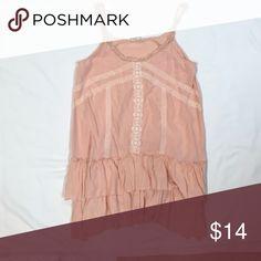Blush Dress Blush mini dress with lace detail Altar'd State Dresses Mini Blush Dresses, Lace Detail, Lace Dress, Mini, Closet, Things To Sell, Tops, Style, Fashion