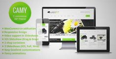 Download and review of Camy - WordPress Shop, one of the best Themeforest eCommerces themes {Download & review at|Review and download at} {|-> }http://best-wordpress-theme.net/camy-shop-download-review/