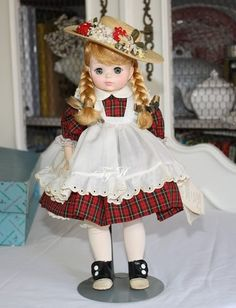 Vintage Madame Alexander Doll McGuffy Ana 1525