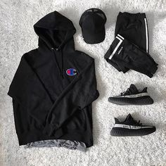 ** Streetwear daily - - - Click this picture to check out our clothing label ** Tomboy Outfits, Casual Outfits, Fashion Outfits, Fashion 2018, Fashion Styles, Hypebeast Outfit, Yeezy Outfit, Hype Clothing, Herren Style