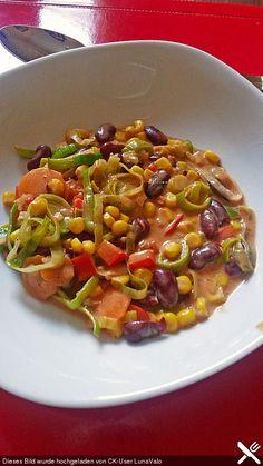 Gemüsepfanne, mexikanisch, ein sehr schönes Rezept aus der Kategorie Gemüse. Bewertungen: 13. Durchschnitt: Ø 4,3.