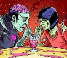 blood, brain, draw, horror - inspiring picture on Favim.com