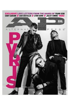 We have the full story on breakout band PVRIS! As if that's not enough, we've also got ten different handwritten notes—full of advice on love and relationships