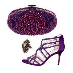 These jewel-tone accessories add a glamorous touch to a plain party outfit. http://www.womenshealthmag.com/style/sparkly-fashion-accessories?cm_mmc=Pinterest-_-womenshealth-_-content-style-_-sparkly
