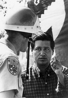 Cesar Chavez with Delano, California police officer, no further info Black History Month Facts, Black History Quotes, History Facts, History Classroom, History Education, History For Kids, Women In History, African American History, British History