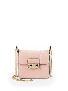 Lanvin Jiji Mini Leather Chain Shoulder Bag