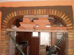 Brick Design, Wall Design, Brick Archway, Brickwork, Patio, Decoration, Loft, Furniture, Home Decor