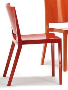 Chairs downstairs? Designed by Piero Lissoni, Kartell's Lizz Chair