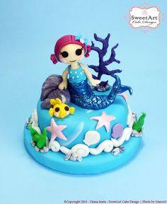 Lalaloopsy Coral Sea Shells Cake