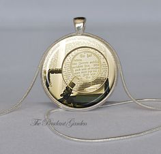 STEAMPUNK MAGNIFYING GLASS Pendant Steampunk Book Necklace Sepia Brass White Book Lovers Gift Library Pendant Bookworm Necklace. $12.95, ThePendantGarden on Etsy.