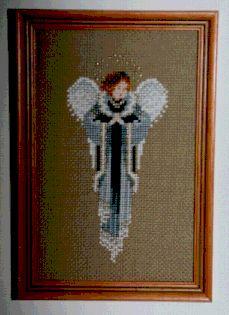 Free Cross Stitch Pattern:  1988 Christmas Angel
