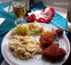Hrubý zemiakový šalát, bugľačský -fotorecept