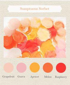 Sumptuous Sorbet Color Palette