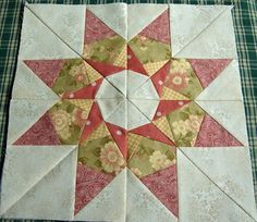 multiple paper-pieced stars