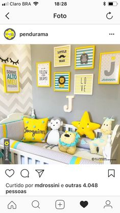 62 Super Ideas baby room cinza e amarelo 62 Supe Toddler Rooms, Baby Boy Rooms, Baby Bedroom, Baby Room Decor, Baby Boy Nurseries, Nursery Room, Kids Bedroom, Bedroom Ideas, Baby Room Colors