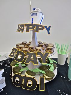 Amazing Star Wars birthday party!!