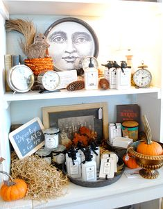 New Bath & Body products in Lisa's space  at The Old Lucketts Store  |   The Graphics Fairy