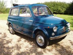 Fully restored 1960s Fiat 500 Giardinara up for sale on eBay