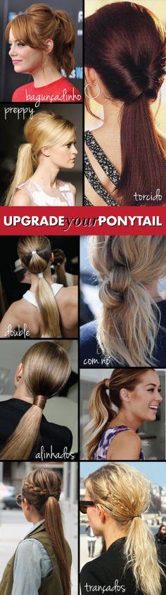 Hair / Cabelo / Rabo-de-cavalo / ponytail