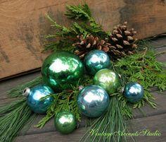 True Vintage Christmas Ornaments Mercury by VintageAccentsStudio