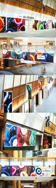 "All senses exist here. ""Fashion for ALL SENSES Roppongi Hills"" ArtDirector:Atsushi Ishiguro(OUWN)"