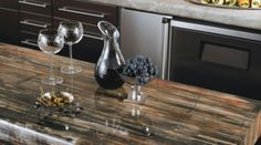 Love the look of granite countertops but not the cost or maintenance? Get the look with 180fx® by Formica Group. Follow the link to get your free sample. #formicabrand