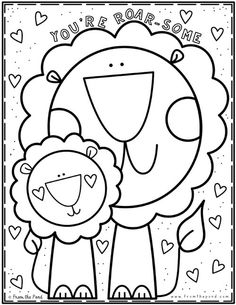 Coloring Club Library — From the Pond Art Drawings For Kids, Drawing For Kids, Easy Drawings, Art For Kids, Kindergarten Coloring Pages, Kindergarten Worksheets, Colouring Pages, Coloring Books, Color Club