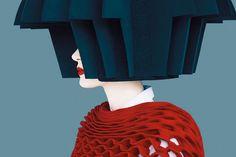 View Junya Watanabe (Honeycomb), Old Future by Erik Madigan Heck at Christophe Guye Galerie in Zurich, Switzerland. Discover more artworks by Erik Madigan Heck on Ocula now. Marlene Dumas, Ellsworth Kelly, Fashion Images, Fashion Art, High Fashion, Fashion Portraits, India Fashion, Style Fashion, Tilda Swinton