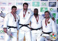 Renat Saidov (RUS), Barna Bor (HUN), Andre Breitbarth (GER), Alex Garcia Mendoza (CUB) - Grand Prix Havana (2016, CUB) - © IJF Media Team, IJF