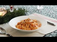 Shrimp Rose Pasta | Honeykki - YouTube