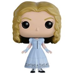 """Alice in Wonderland - Alice Pop! Vinyl Figure """"Sometimes I believe in as many as six impossible things before breakfast."""" Tim Burton brought to life Lewis Carroll's classic novel, Alice in Wonderland, in live action in 2010 and now they are coming t Disney Pop, Film Disney, Disney Pixar, Funko Pop Dolls, Funko Pop Figures, Vinyl Figures, Figurine Pop Disney, Disney Figurines, Dana Scully"""