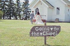 little white country church wedding <3 - Crimson Chickadee Photography