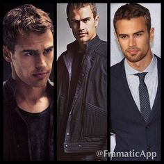 He will live in my love life memory forever, I love him so much it's not even funny. I wish that I can meet him one day, I'm like.. Dead serious. I would die if I actually will meet him one day. He is my man crush, now, tomorrow, every month, every year, and every lifetime. Theo James~ I love you more then anyone and anything❤️❤️