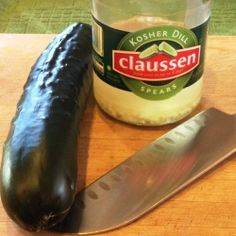 Homemade Pickles - Reusing Claussen - It's way too simple to make and only a fraction of the price.