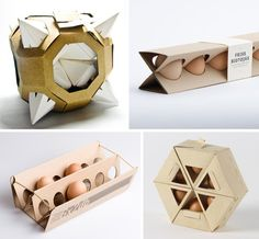 4 Extremely Polyhedral Egg Cartons