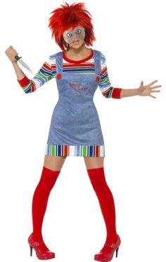 Adult Miss Chucky Halloween Costume | Jokers Masquerade